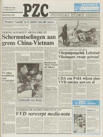 Provinciale Zeeuwse Courant 1983-04-18