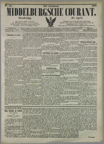 Middelburgsche Courant 1891-04-30