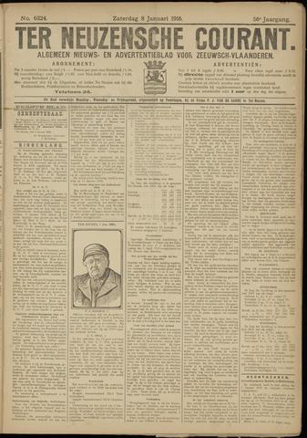 Ter Neuzensche Courant. Algemeen Nieuws- en Advertentieblad voor Zeeuwsch-Vlaanderen / Neuzensche Courant ... (idem) / (Algemeen) nieuws en advertentieblad voor Zeeuwsch-Vlaanderen 1916-01-08