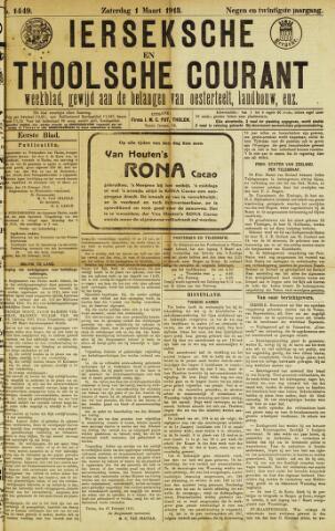 Ierseksche en Thoolsche Courant 1913-03-01