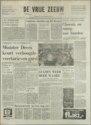 de Vrije Zeeuw 1971-12-01