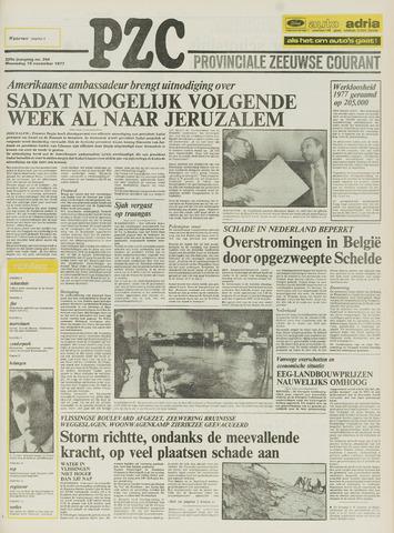 Provinciale Zeeuwse Courant 1977-11-16