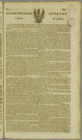 Middelburgsche Courant 1817-01-09