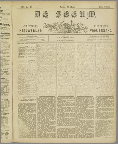 De Zeeuw. Christelijk-historisch nieuwsblad voor Zeeland 1896-03-28