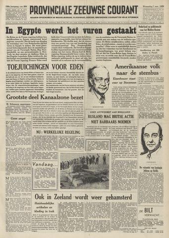 Provinciale Zeeuwse Courant 1956-11-07