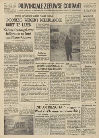 Provinciale Zeeuwse Courant 1961-02-08