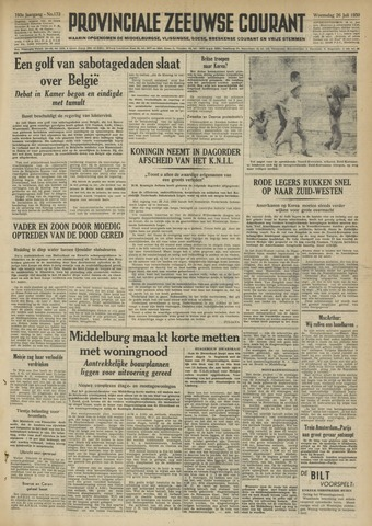 Provinciale Zeeuwse Courant 1950-07-26