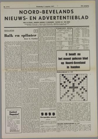 Noord-Bevelands Nieuws- en advertentieblad 1977-08-11