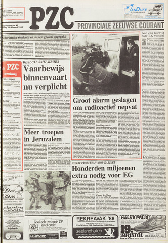 Provinciale Zeeuwse Courant 1988-02-20