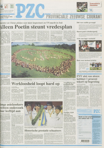 Provinciale Zeeuwse Courant 2003-02-10