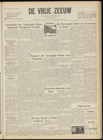 de Vrije Zeeuw 1957-09-11