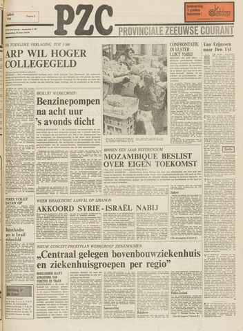 Provinciale Zeeuwse Courant 1974-05-22