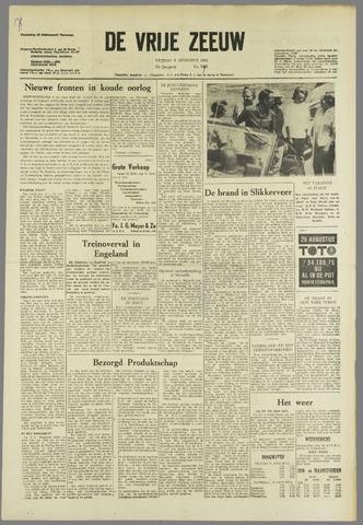 de Vrije Zeeuw 1963-08-09
