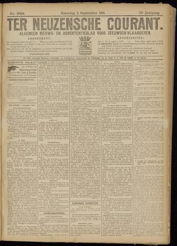 Ter Neuzensche Courant. Algemeen Nieuws- en Advertentieblad voor Zeeuwsch-Vlaanderen / Neuzensche Courant ... (idem) / (Algemeen) nieuws en advertentieblad voor Zeeuwsch-Vlaanderen 1916-09-02