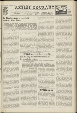 Axelsche Courant 1958-03-08