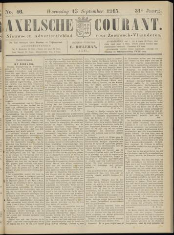 Axelsche Courant 1915-09-15