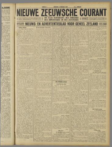 Nieuwe Zeeuwsche Courant 1926-02-09