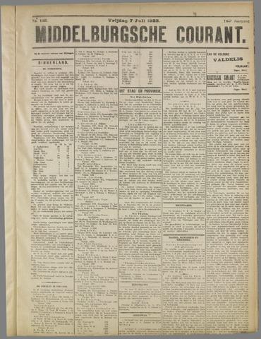 Middelburgsche Courant 1922-07-07