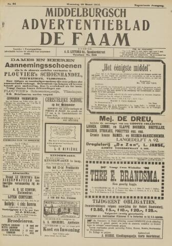 de Faam en de Faam/de Vlissinger 1915-03-10