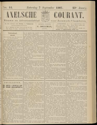 Axelsche Courant 1907-09-07