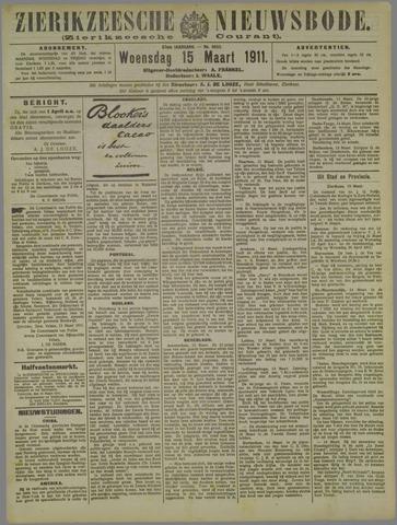 Zierikzeesche Nieuwsbode 1911-03-15