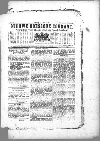 Nieuwe Goessche Courant 1879-04-08