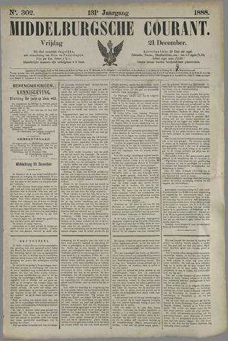 Middelburgsche Courant 1888-12-21