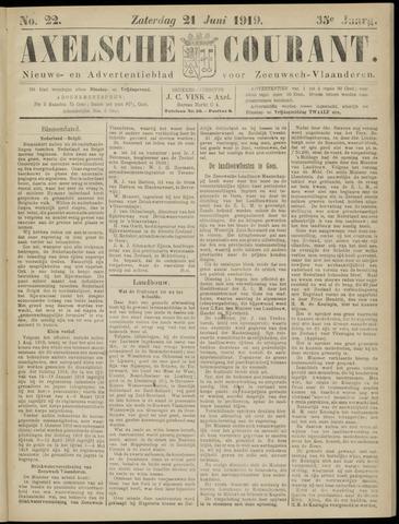 Axelsche Courant 1919-06-21