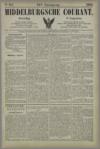 Middelburgsche Courant 1884-08-09