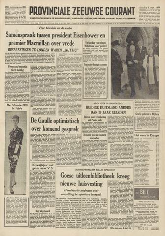 Provinciale Zeeuwse Courant 1959-09-01