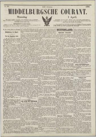 Middelburgsche Courant 1901-04-01