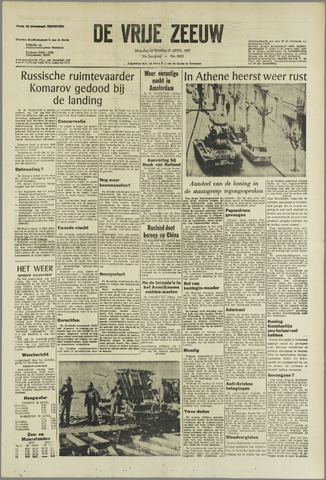 de Vrije Zeeuw 1967-04-24