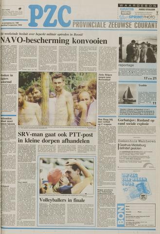 Provinciale Zeeuwse Courant 1992-08-08