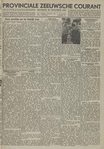 Provinciale Zeeuwse Courant 1943-11-29