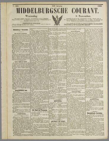 Middelburgsche Courant 1905-11-08