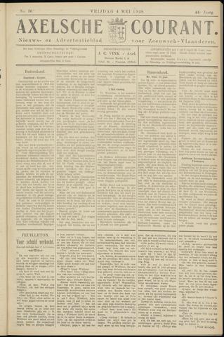 Axelsche Courant 1928-05-04