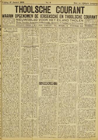 Ierseksche en Thoolsche Courant 1936-01-17