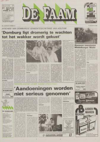 de Faam en de Faam/de Vlissinger 1988-08-10