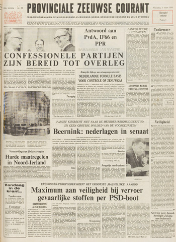 Provinciale Zeeuwse Courant 1971-03-03