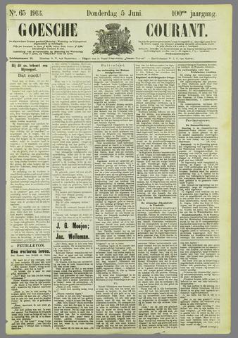 Goessche Courant 1913-06-05
