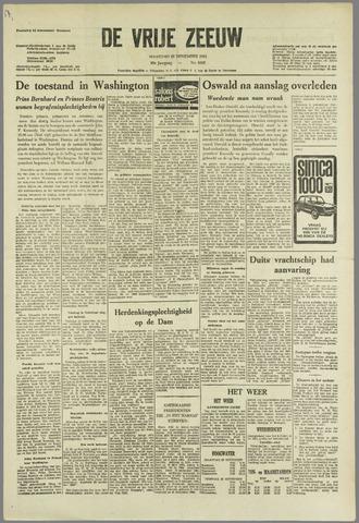 de Vrije Zeeuw 1963-11-25