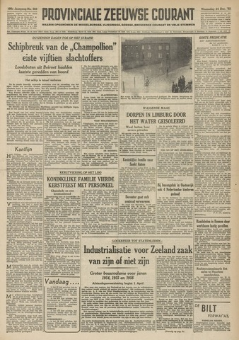 Provinciale Zeeuwse Courant 1952-12-24