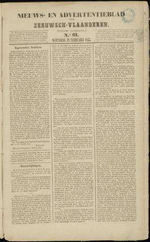 Ter Neuzensche Courant. Algemeen Nieuws- en Advertentieblad voor Zeeuwsch-Vlaanderen / Neuzensche Courant ... (idem) / (Algemeen) nieuws en advertentieblad voor Zeeuwsch-Vlaanderen 1855-02-28