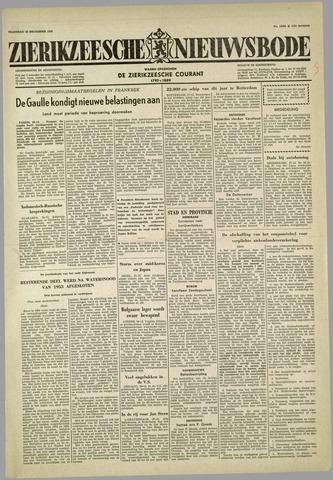 Zierikzeesche Nieuwsbode 1958-12-29