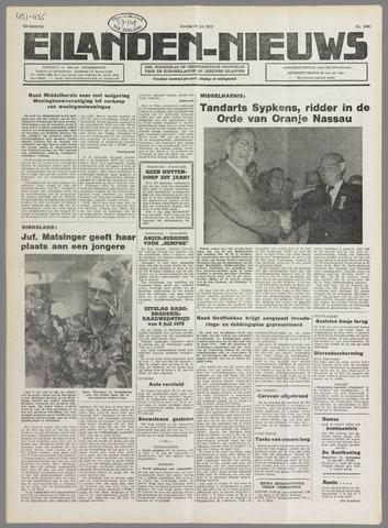 Eilanden-nieuws. Christelijk streekblad op gereformeerde grondslag 1979-07-10