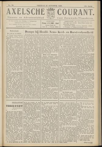 Axelsche Courant 1939-10-27