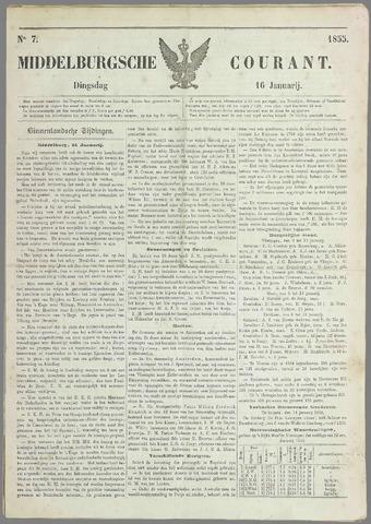 Middelburgsche Courant 1855-01-16