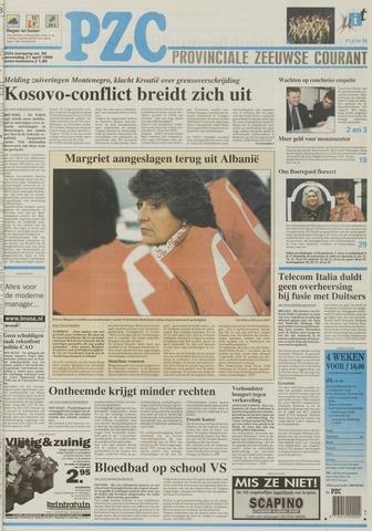 Provinciale Zeeuwse Courant 1999-04-21