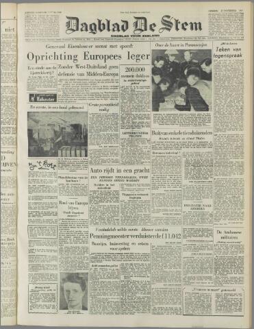 de Stem 1951-11-27