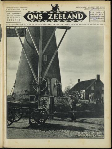 Ons Zeeland / Zeeuwsche editie 1934-12-07